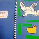 La paperella 8 incontra un gabbiano (seagul)