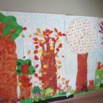 Il bosco realizzato dai bambini