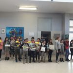 Fiori in dono a tutte le classi e ai bambini