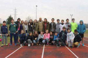 Il gruppo degli alunni della Wojtyla