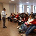 L'incontro con Nino Ragusi, del gruppo astrofili di Cinisello Balsamo