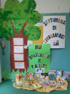 I cartelloni della settimana di libriamoci: gli alberi