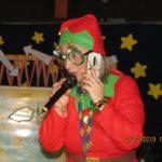 Folletta Benedetta chiama Babbo Natale al telefono